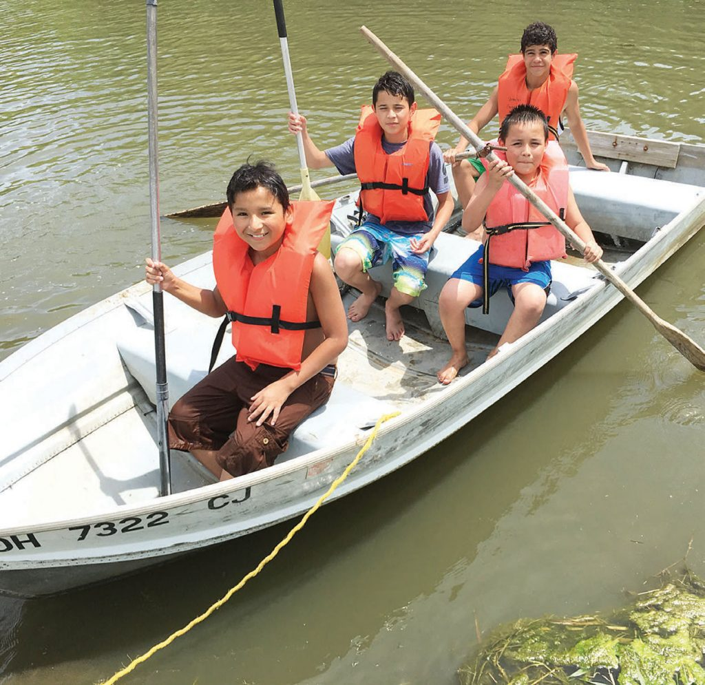 Summer campers dive deep: 34 students start 'journey of faith'