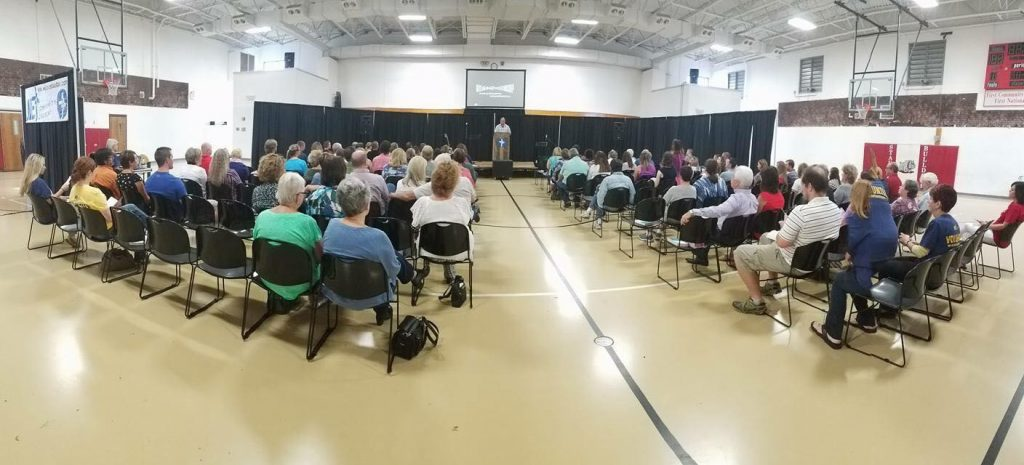 Big day for church starts; Three congregations launched September 18