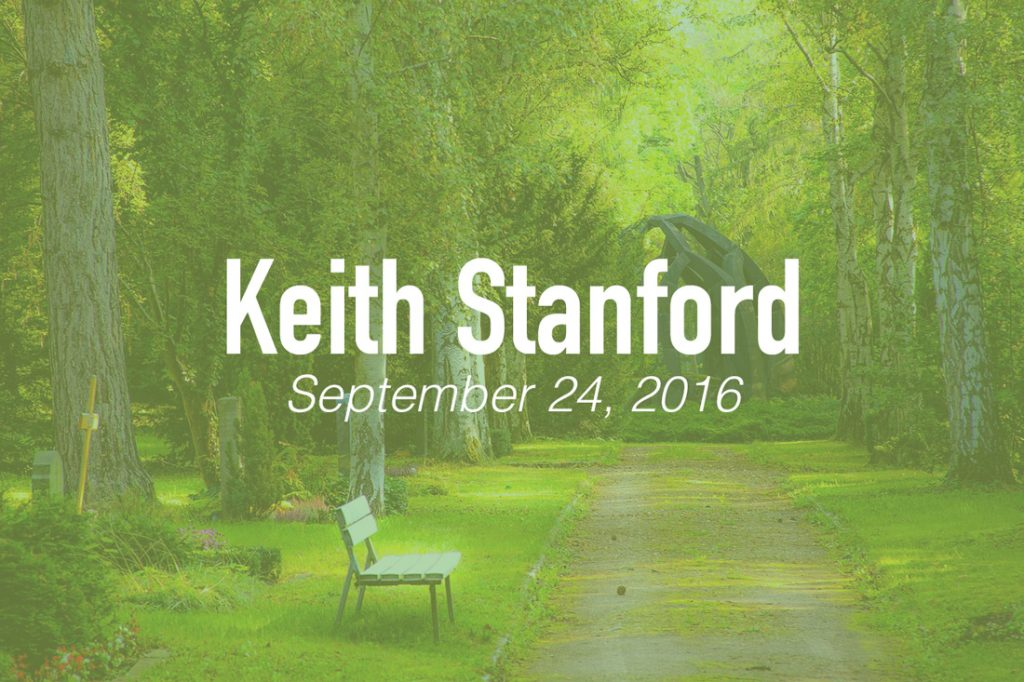 Keith Stanford, Former IBSA staffer remembered for 'pastoral spirit'