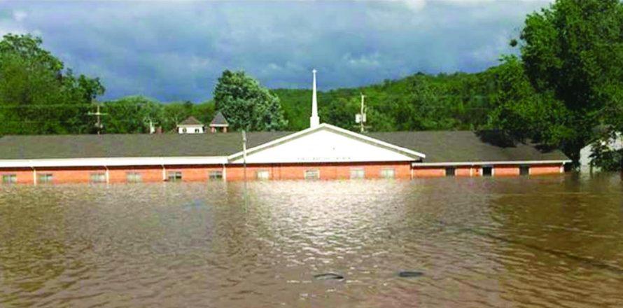 Teams aid flood victims; Volunteers offer physical help, spiritual hope