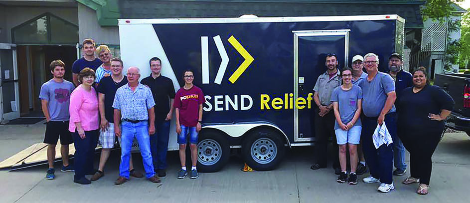 Small church makes big effort for Children's Home New Disaster Relief trailer is a handy resource to churches