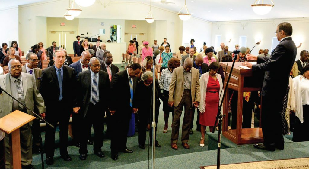 Church marks first decade