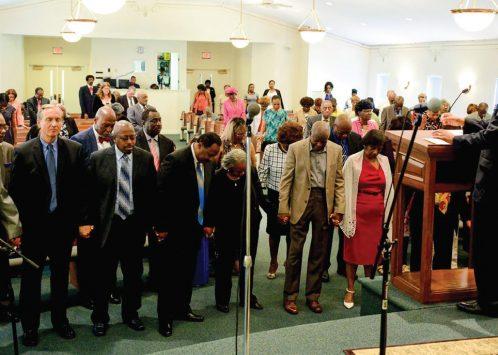 Church marks first decade