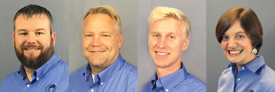 Four join IBSA staff: Aim to enhance connection, leadership, communication