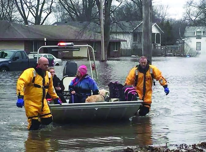 Volunteers respond after flooding: Disaster Relief teams mobilize to eastern Illinois