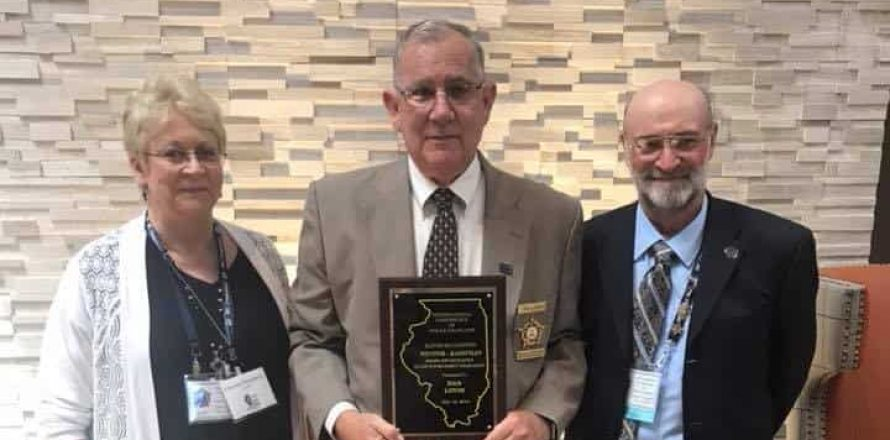 Illinois police chaplain honored