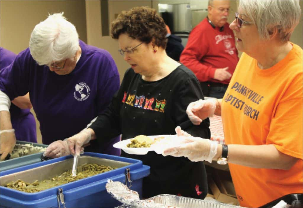 Harrisburg ministry makes room at the table