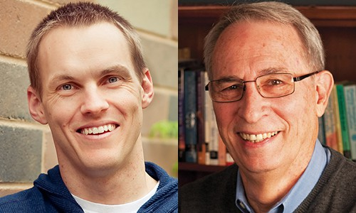 David Platt (left) and Clyde Meador (right)