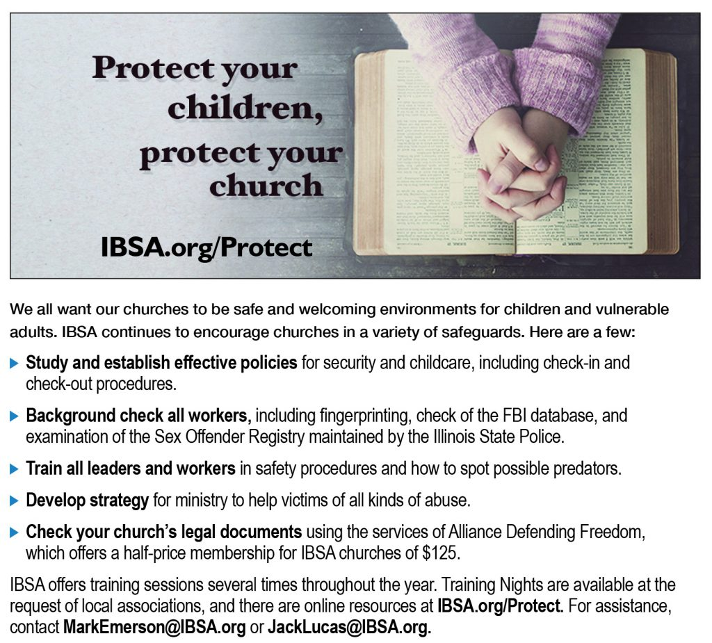 Protect your children, protect your church