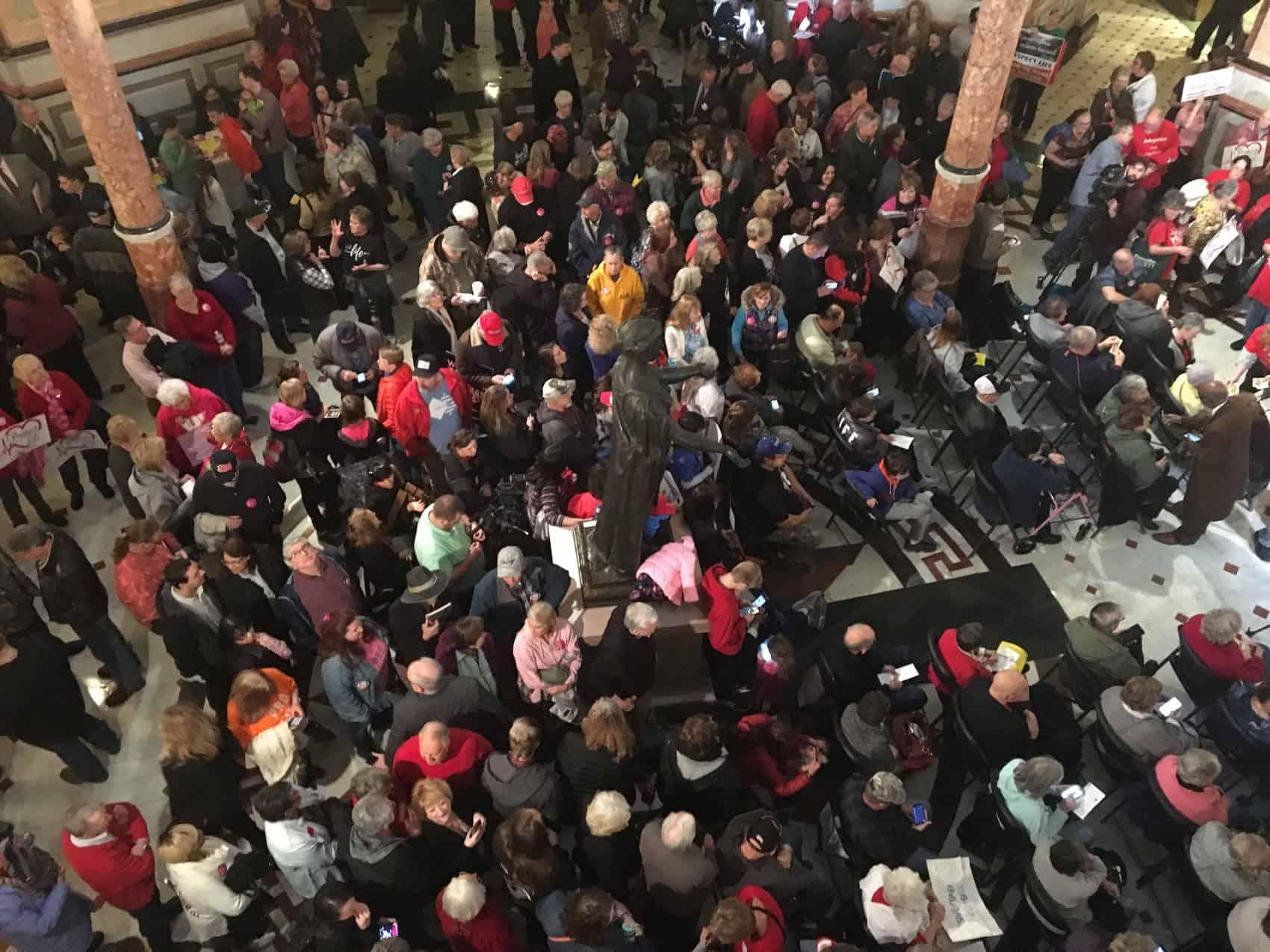 State Capitol Rotunda Pro-Life Rally Day