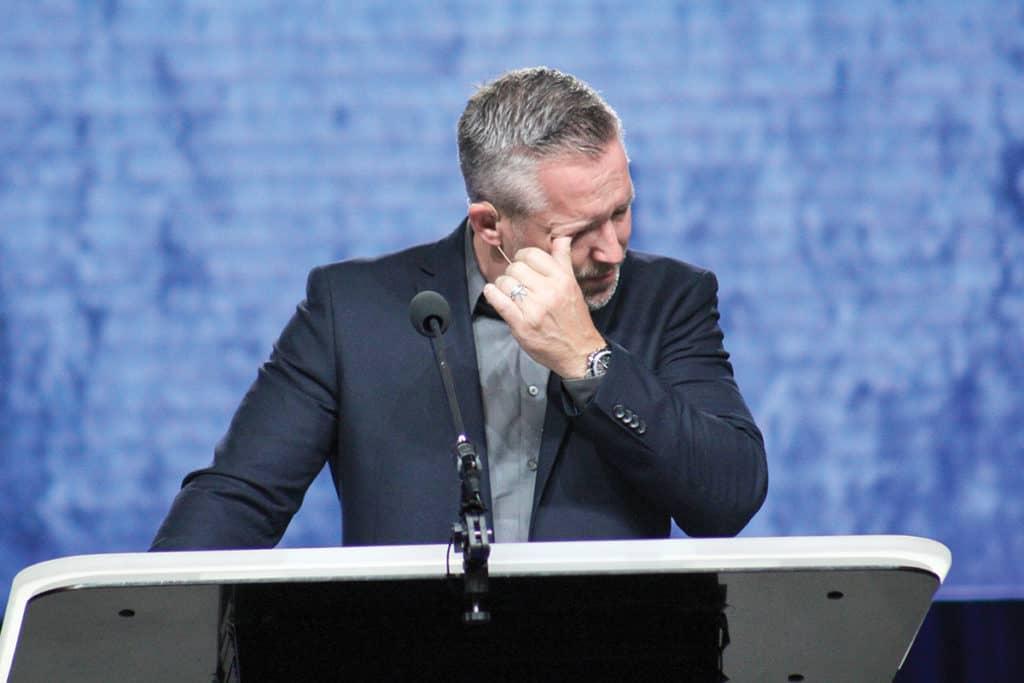 JD Greear praying