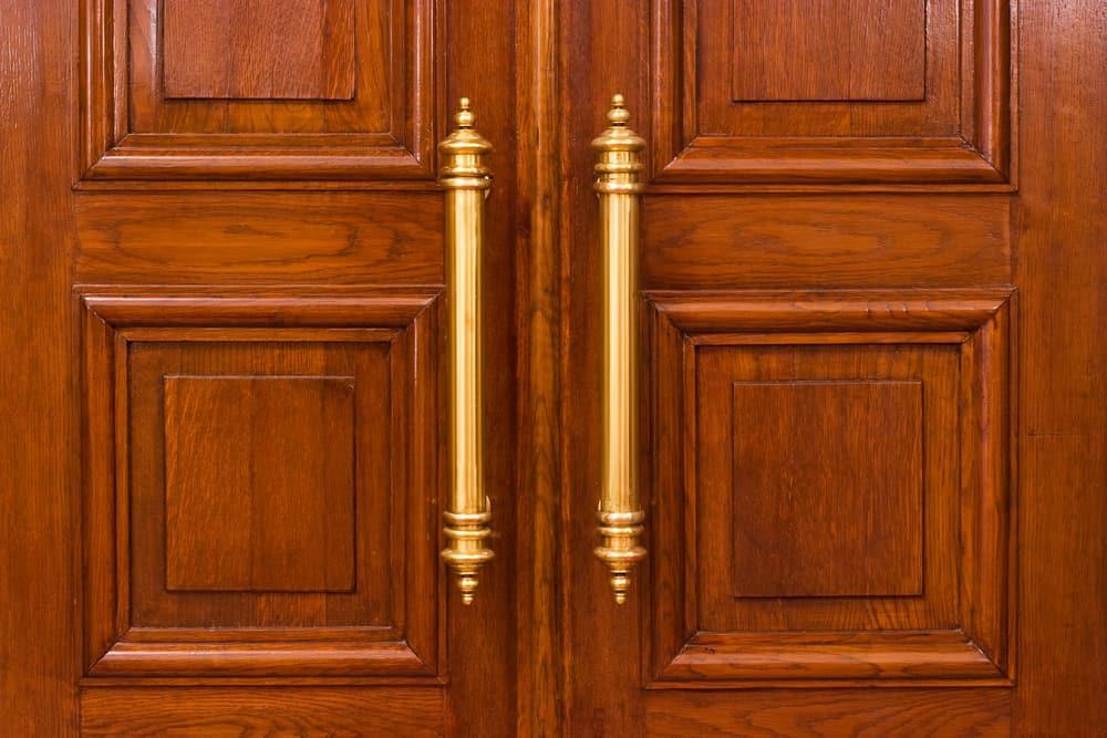 Church sanctuary doors