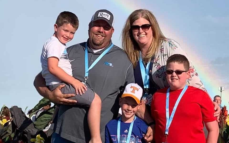 Chad Williams Family