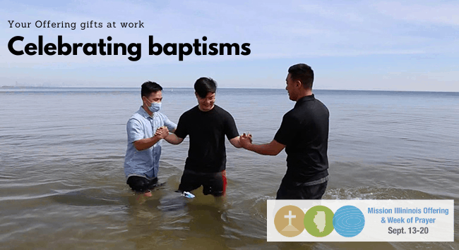 Celebrating baptisms