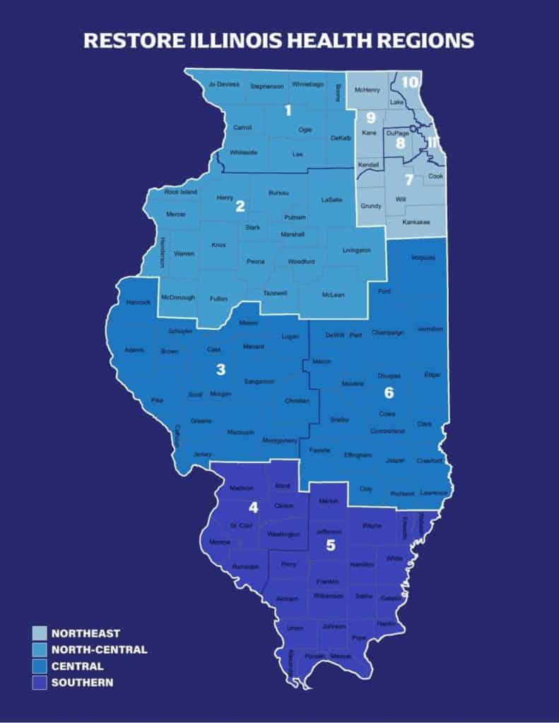 Restore Illinois Map