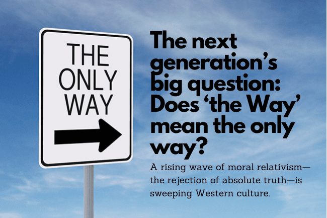Does 'the Way' mean the only way?