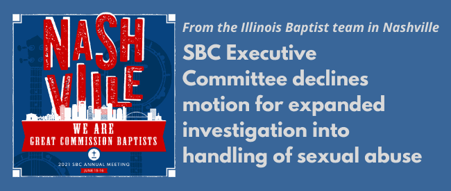 Illinois Baptist coverage of SBC21