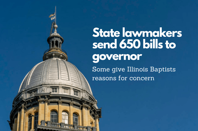State lawmakers send 650 bills to governor