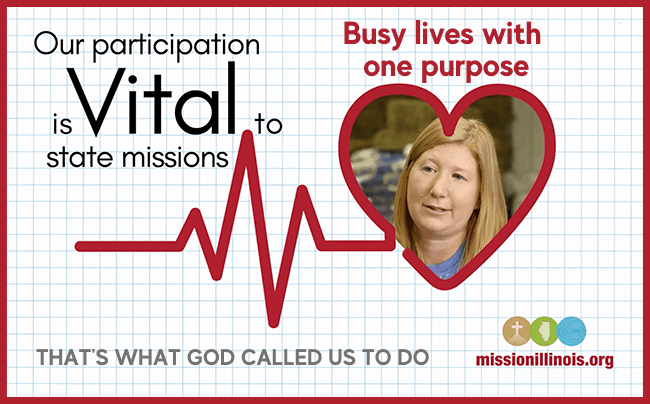 Busy lives with one purpose