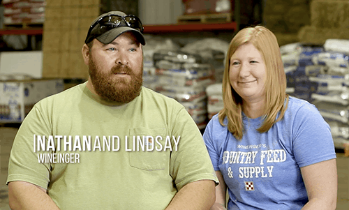 Nathan and Lindsey Wineinger